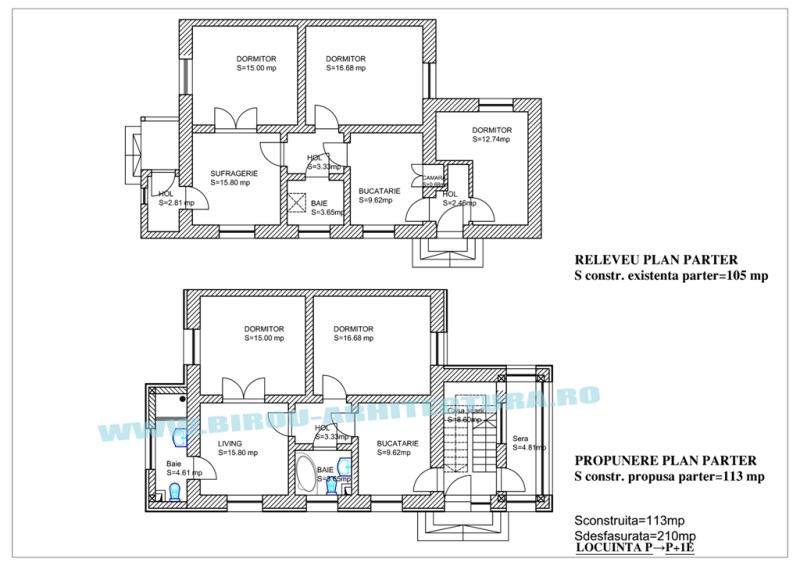 portofoliu lucrari birou arhitectura bucuresti autorizatie construire arhitect bucuresti. Black Bedroom Furniture Sets. Home Design Ideas